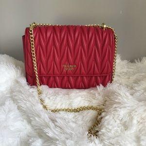 Victoria Secret Pink Gold Chain Shoulder Bag